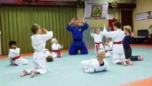 Judo leer je spelenderwijs