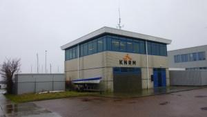KNRM station waar Ben dagelijks te vinden is